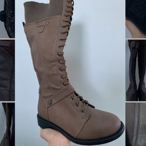 Top Moda Lace Up Boots